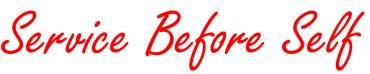 Service-before-self